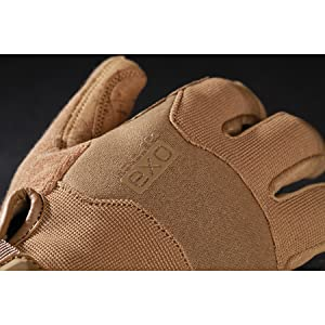 Coyote Brown Glove Back of Hand protection