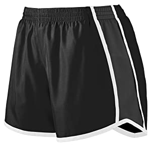 ladies training shorts moisture wicking workout gym shorts