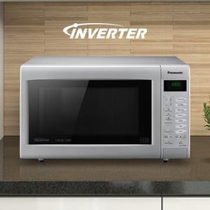 Panasonic Nn Ct565mbpq Slimline Combination Microwave 27
