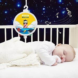 baby music box,baby mobile,baby gift,baby mobile crib