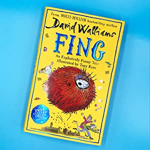 David Walliams, Walliams, Roald Dahl, Fing, Monsters, Funny, Children's Books