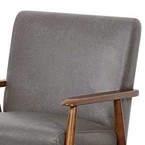 Living Room Furniture, Bedroom Furniture,Accent Chair,Side Chair,Armless Chair,Faux Leather Chair