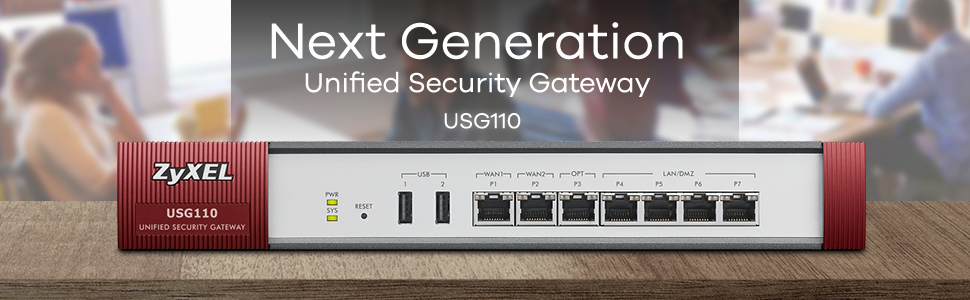 Unified Security Gateway Zyxel USG110