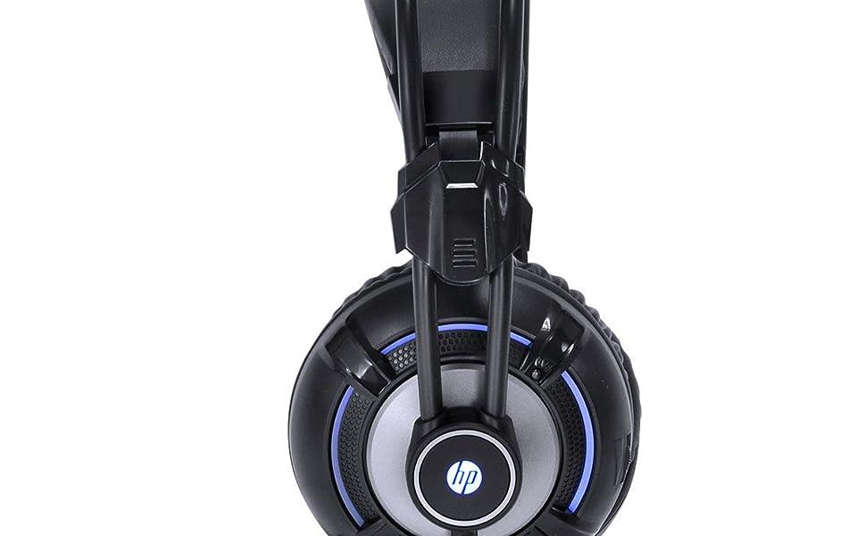 FONE GAMER HP , HEDSET H300 BLACK , HP