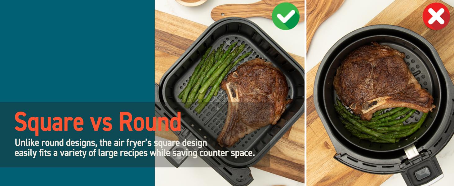 Square vs Round