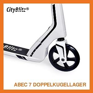 Kickscooter Wei/ß CityBlitz SPEED CB008W