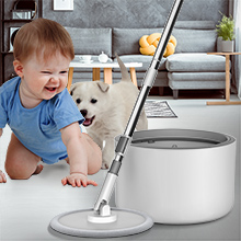 iMop spin mop just over 2.5 lbs, the  mop bucket was designed to be easy to maneuver