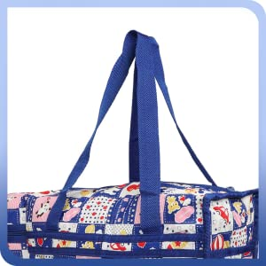 Cutieco Multifunctional New Born Baby Diaper Nappy Bag/Mother Bag with 2 Bottle Holders, Blue