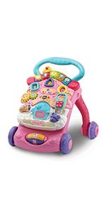 Vtech- Mesita Infantil Estrella Bilingüe, Color rosa (3480 ...