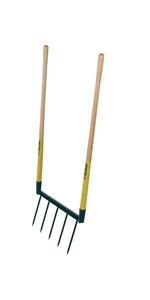Manche bois 130 cm Leborgne Croissant /à crochet Acier forg/é et tremp/é Longueur lame: 24 cm