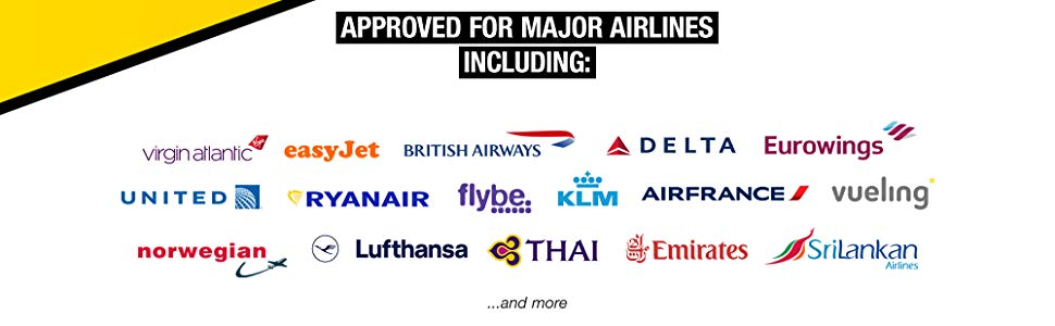 Travel Ready compatible flights