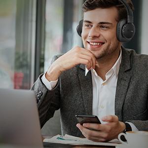 Harman Kardon FLY ANC headphones' Multipoint connection