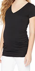 Maternity Short Sleeve Tee Shirt