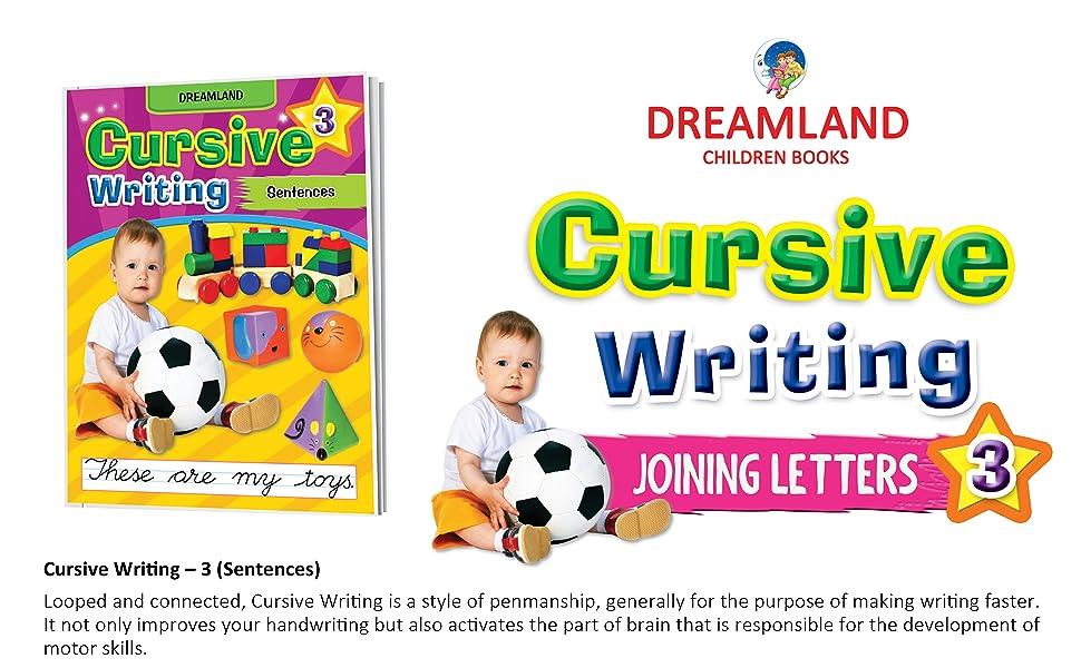 cursive writing, Handwriting books, dreamland publications, early learning, writings books