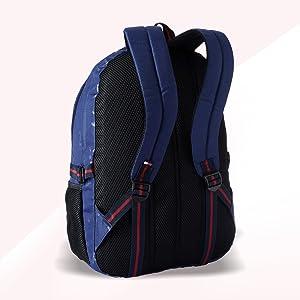 7ce8eb878a Tommy Hilfiger Alaska Polyester 24 Ltrs Navy Laptop Backpack ...