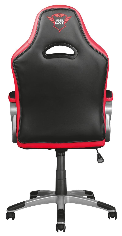 Trust gxt 705 ryon sedia gaming ergonomica nero rosso for Sedia trust