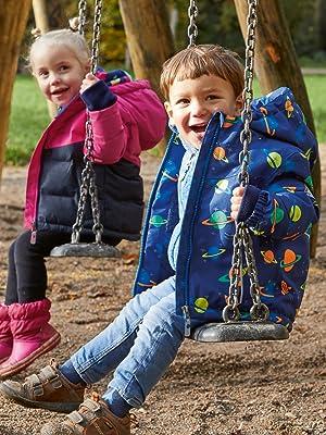 Killtec Kinder Twinkly MNS Onpc B Overall In Daunenoptik Mit Kapuze