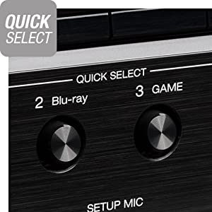 Denon AVR-S750H Quick Selects