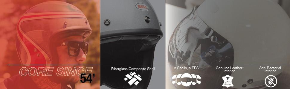 Bell motorcycle helmet custom 500