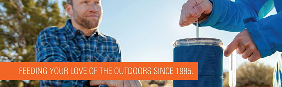 gsi, outdoors, camp, cookware, camping, coffee, french press
