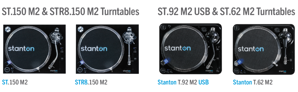Stanton STR8.150 MKII Professional Direct Drive DJ Turntable