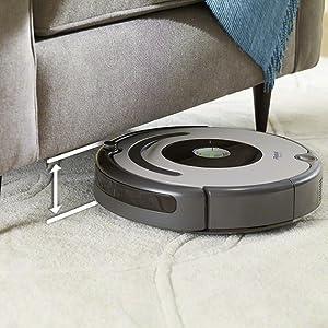 sous les meubles nettoyer aspirateur robot irobot roomba