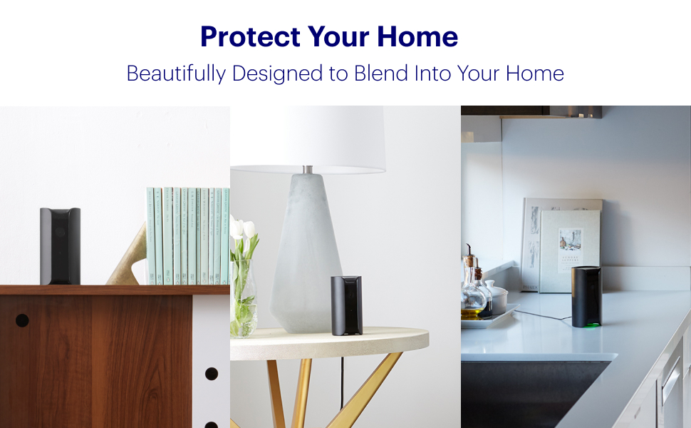 Canary pro, protect your home, design, home security camera