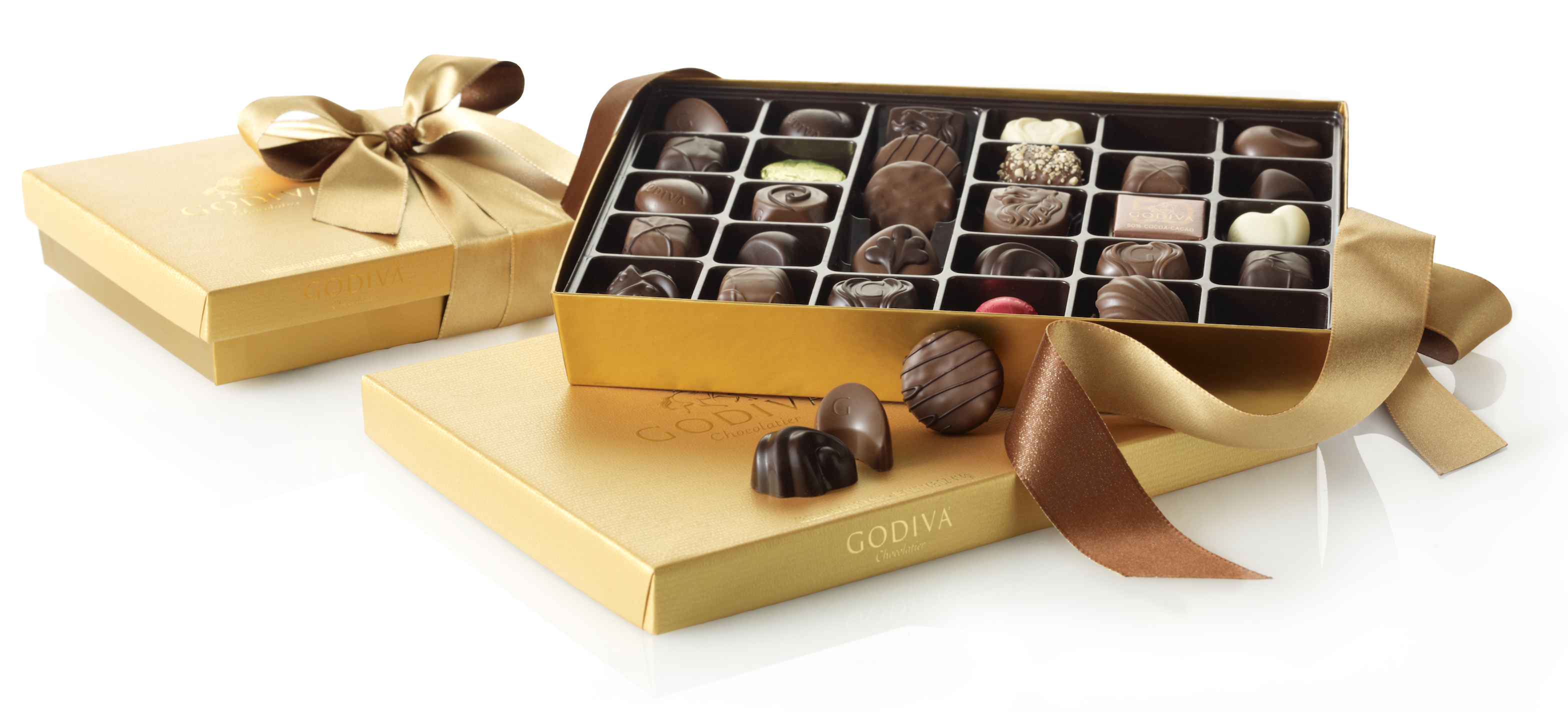 Amazon.com : GODIVA Chocolatier Assorted Chocolate Gold Gift Box ...