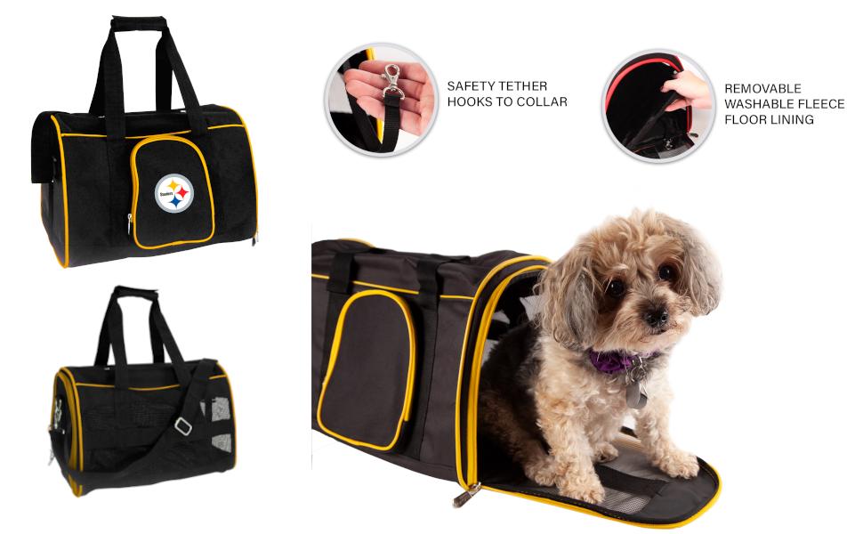 Amazon Com Ncaa Air Force Falcons Premium Pet Carrier Sports Outdoors