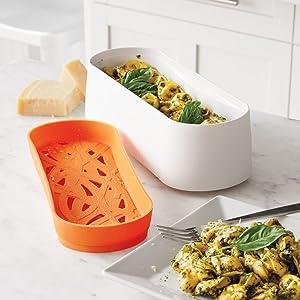 Amazon.com: Lekue – tupper cocinador de pasta Modelo ...