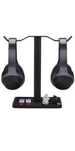 dual headphone stand