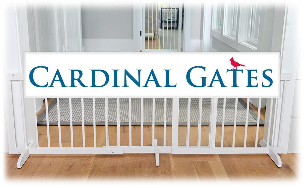Cardinal Gates, Stepover gate, dog gate, expandable pet gate