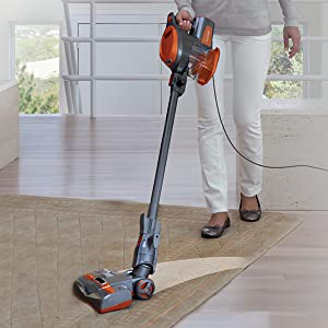 corded stick, corded stick vacuum, continuous cleaning, powerful cleaning
