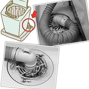 抗菌 消臭 防虫 防臭繊維 排水口 カバー フィルター 掃除 ホコリ 臭い 洗濯機 洗面 キッチン カット可 トルシート ネット ゴミ 髪の毛 簡単 便利