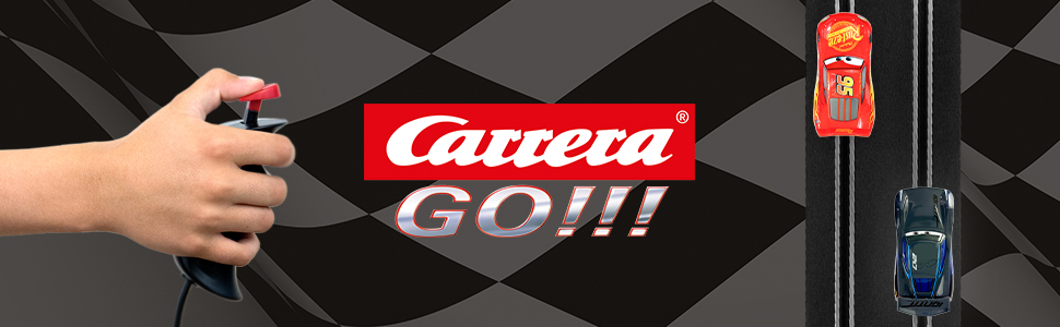Carrera GO Slot Car Racing Cars and Sets 1:43 Scale Analog Vehicles