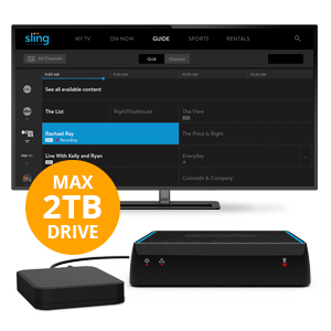AirTV | Dual-tuner Local Channel Streamer for TVs and Mobile Devices | DVR  Capable | Built for Sling TV