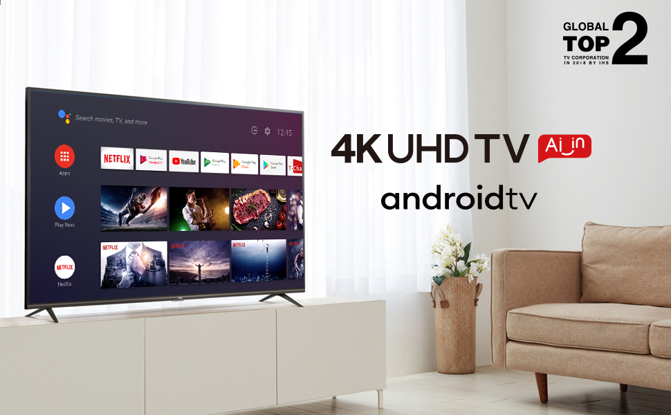 4K AI Android TV