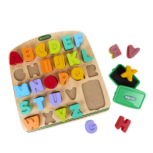 Alphabet, Stamps, Letters, Words, Spell, Educational, Play, Colour, Learn, Ink, Washable, Crayola