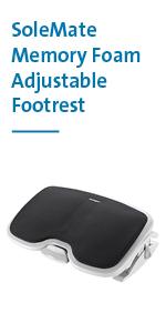 Kensington Comfort Memory Foam Adjustable Footrest (K56144USF)