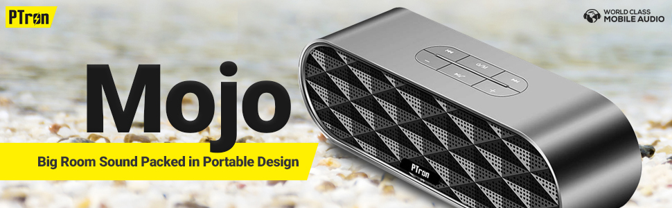 PTron Mojo Mini Bluetooth Speaker with Dual Speaker