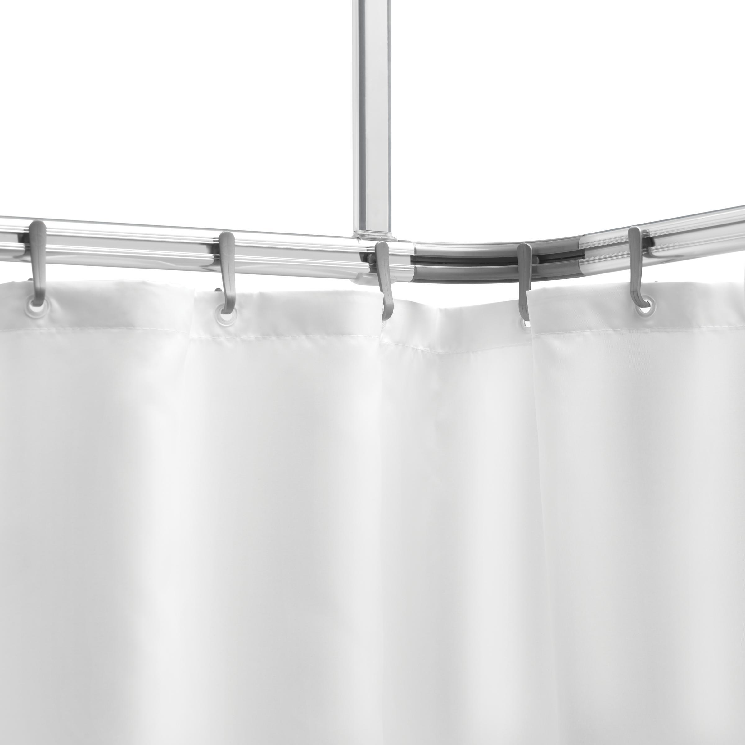 sealskin komplett set easy roll duschvorhangstange duschvorhanghalterung zur individuellen. Black Bedroom Furniture Sets. Home Design Ideas