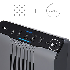 5300-2 Smart Sensors and Auto Mode for Automatic Fan Speed Adjustments. Energy Saving