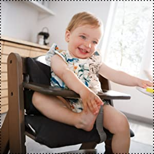 seat reducer easy to attach by velcro high-quality padding optimum comfort