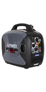 A-iPower SC2000iREC 2000 Watt Inverter Generator Powered by Yamaha
