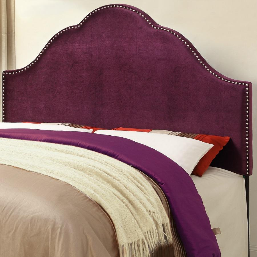 Design Purple Tufted Headboard amazon com pulaski glam upholstered headboard king velvet headboardlinen headboardtufted headboardking headboardqueen headboardbedroom