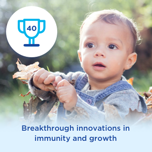 Breakthrough innovations in immunity and growth