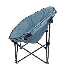 10T Campingstuhl Moonchair XXL leichter Campingsessel Relaxsessel Faltstuhl Klappstuhl Angelstuhl