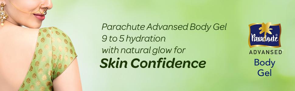 gel,body gel,aloe vera gel,light,non-sticky,Parachute Advansed Body Gel,Coconut water,Aloe Vera gel