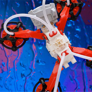 air-walker, vertical, climbing, robot, air pressure, suction cups, physics