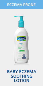baby eczema soothing lotion